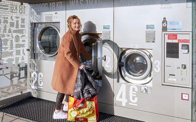 Nieuw bij Shell Rijen: wasmachine XL